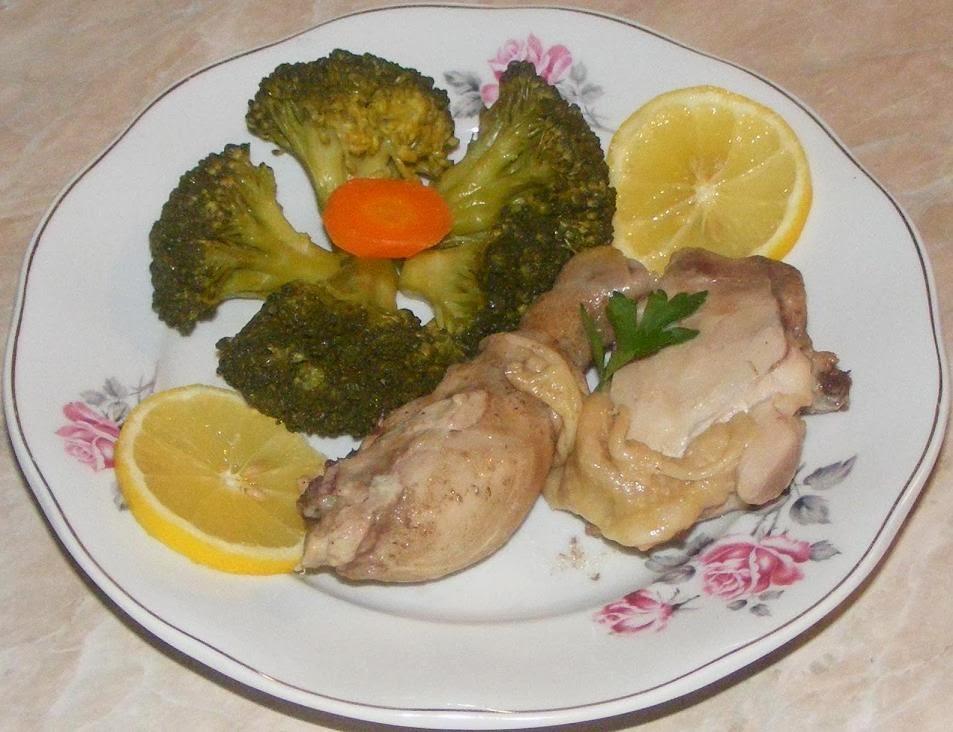 retete dietetice, retete culinare, broccoli, retete cu broccoli, pui cu broccoli, retete la aburi,