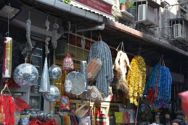 Rustem Pasa Mosque Istanbul Shops