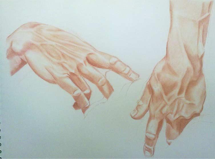 manos del moises de miguel angel