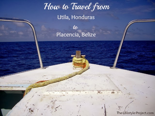 How to travel from honduras to belize