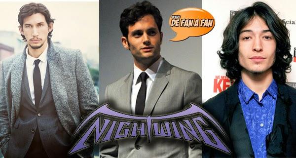 Candidatos a Nightwing en Batman vs Superman
