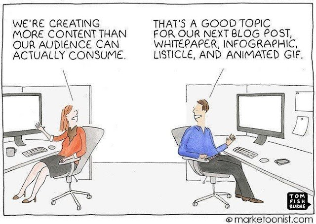 Focus on content quality than quantity
