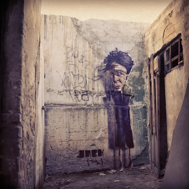 Street Art By Israeli Urban Artist Jack TML on the streets of Tel Aviv, Israel. 4