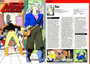 Ficha DC Comics Kono