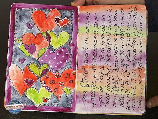 art journal Stampin' Up!