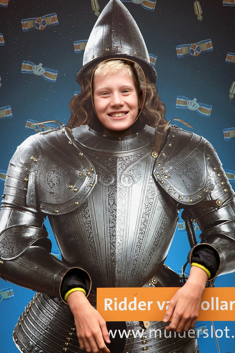 my nephew Janne looks just like a knight