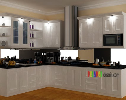 Kitchen Set Kitchen Set Modern Klasik Warna Putih