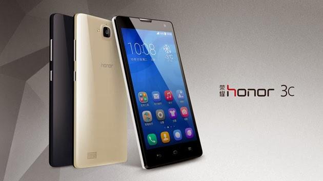 Daftar Harga Huawei Honor 3C Terbaru Lengkap 2014