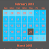 TimesSquare Calendar view for Android