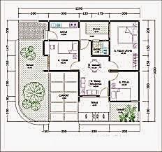 desain rumah tinggal type 60
