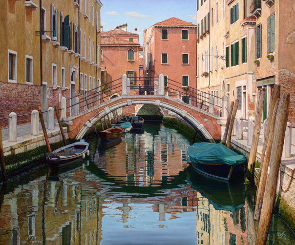 Licio Passon 1965 | Italian Landscape painter