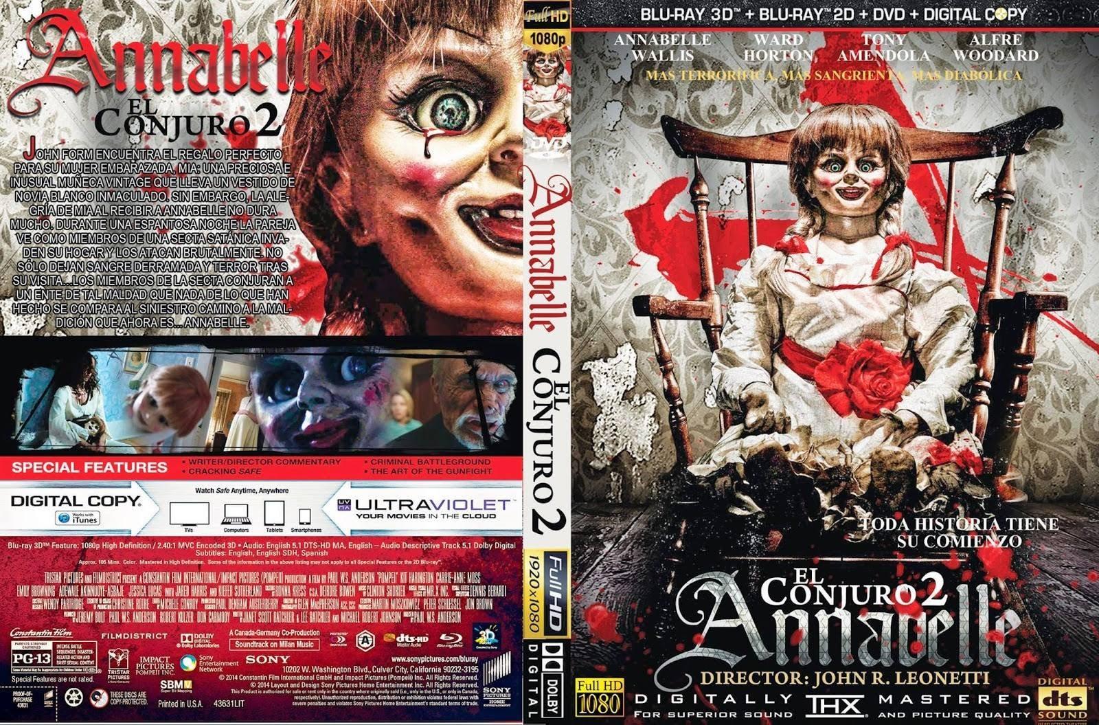 Anna belle dvds