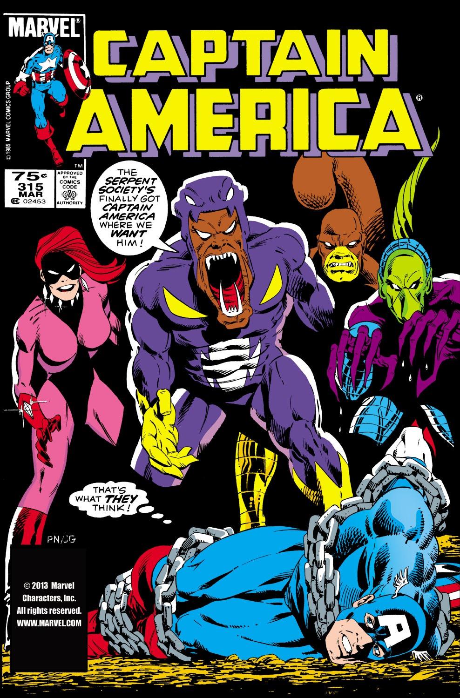 Captain America (1968) Issue #315 #243 - English 1
