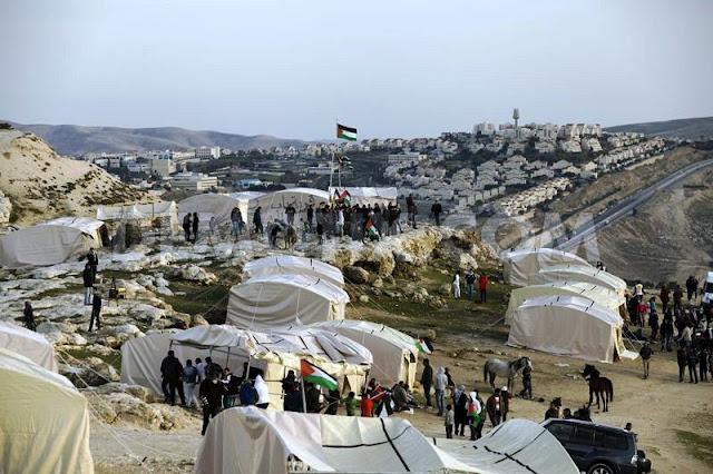 Palestina - Resistencia - Acampamento de Bab Al Shams