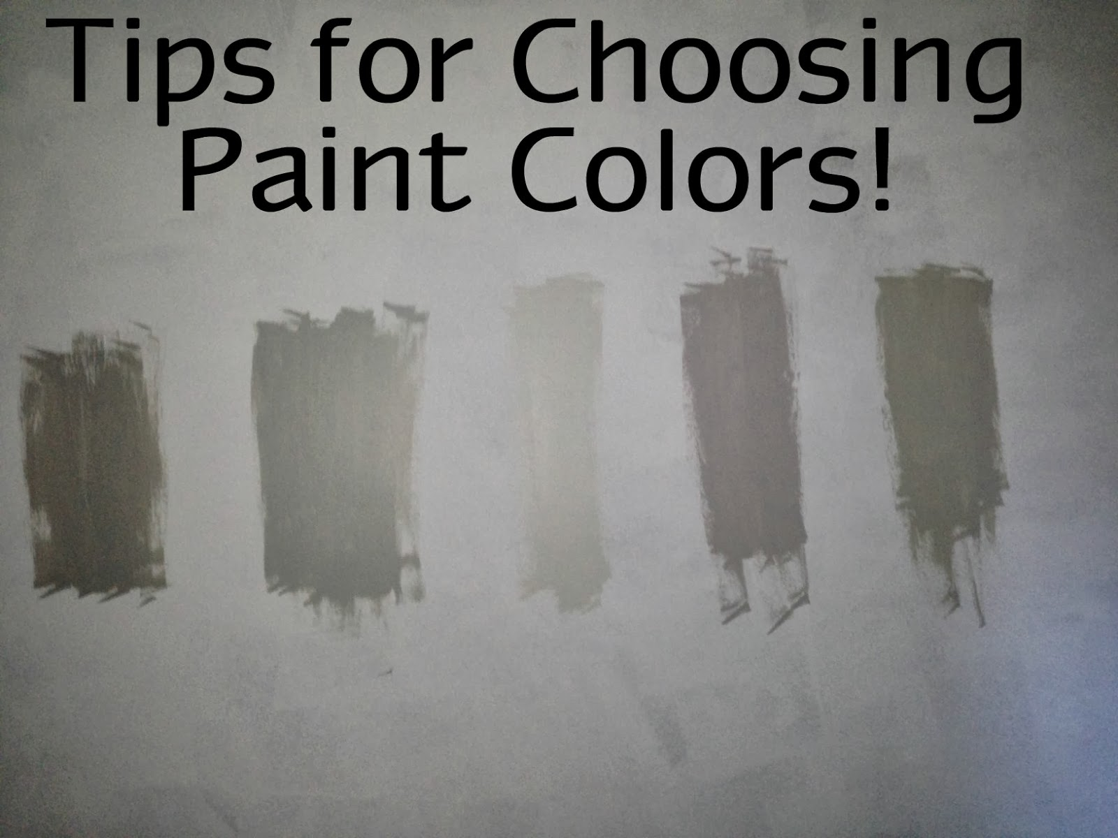How to pick a paint color ellis page Pick paint colors