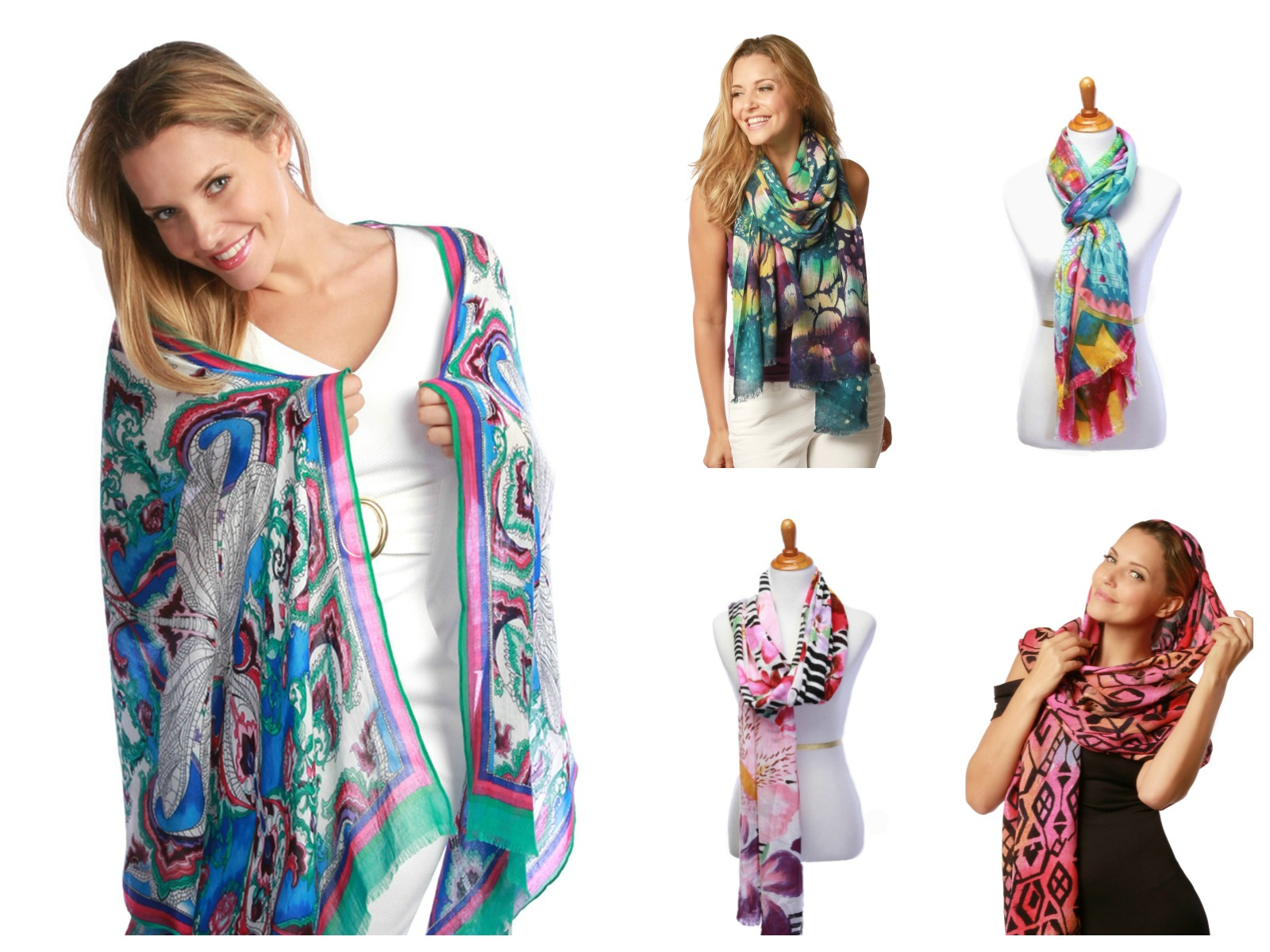 Resort scarves & wraps at www.SolEscapes.com.