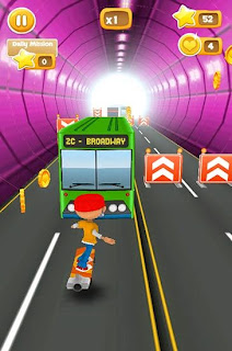 Screenshots of the Subway 4 lane for Android tablet, phone.