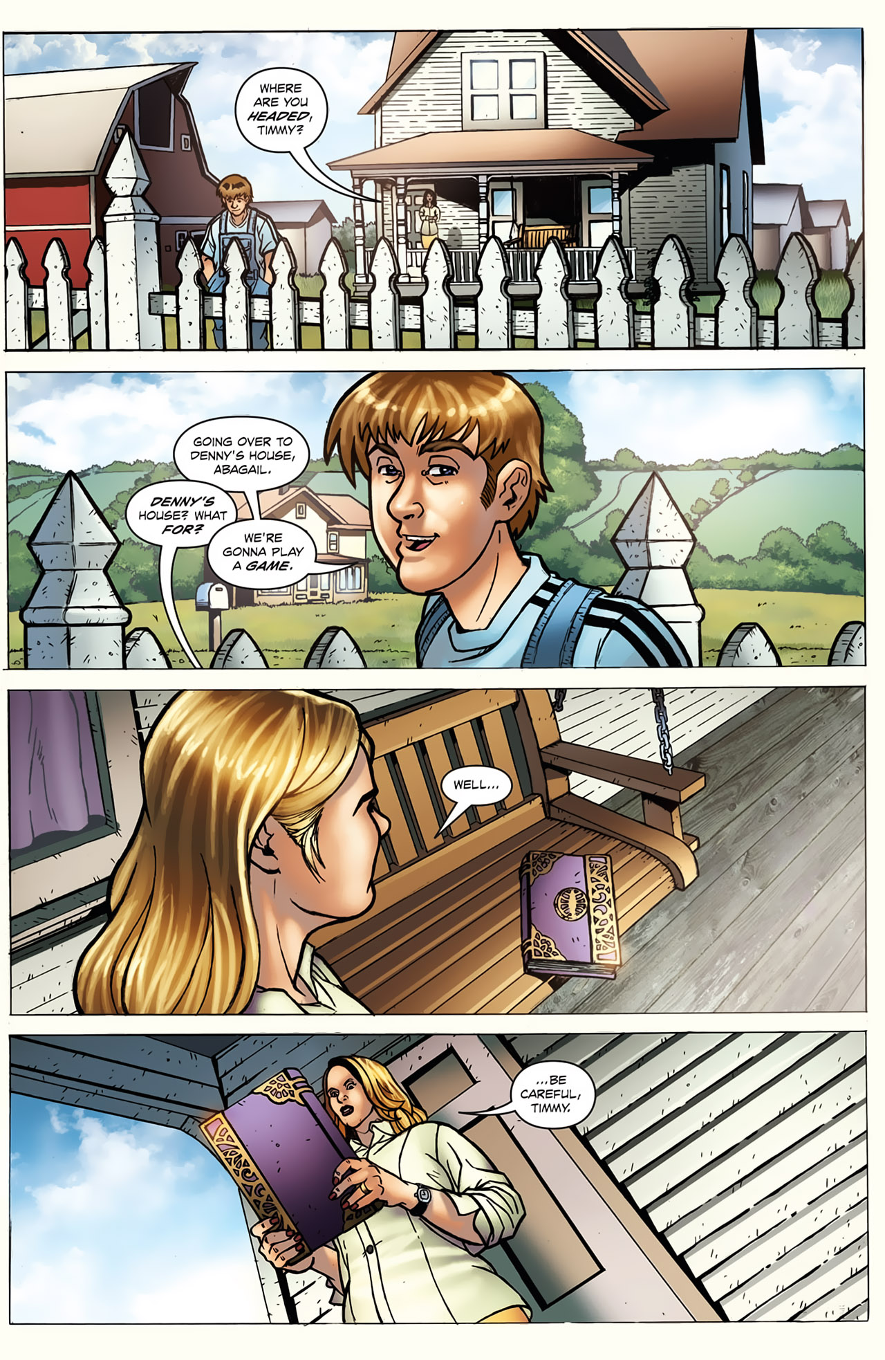 Grimm Fairy Tales (2005) Issue #20 #23 - English 6