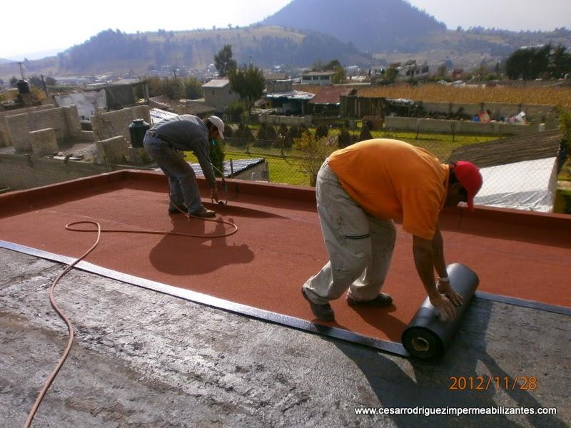 Impermeabilizaci n garantizada de azoteas y techos - Impermeabilizantes para terrazas ...