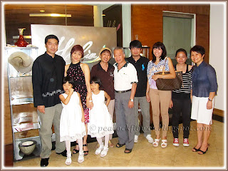 My family at Halia, Sime Darby Convention Center (Pusat Konvensyen Sime Darby), Bukit Kiara, KL