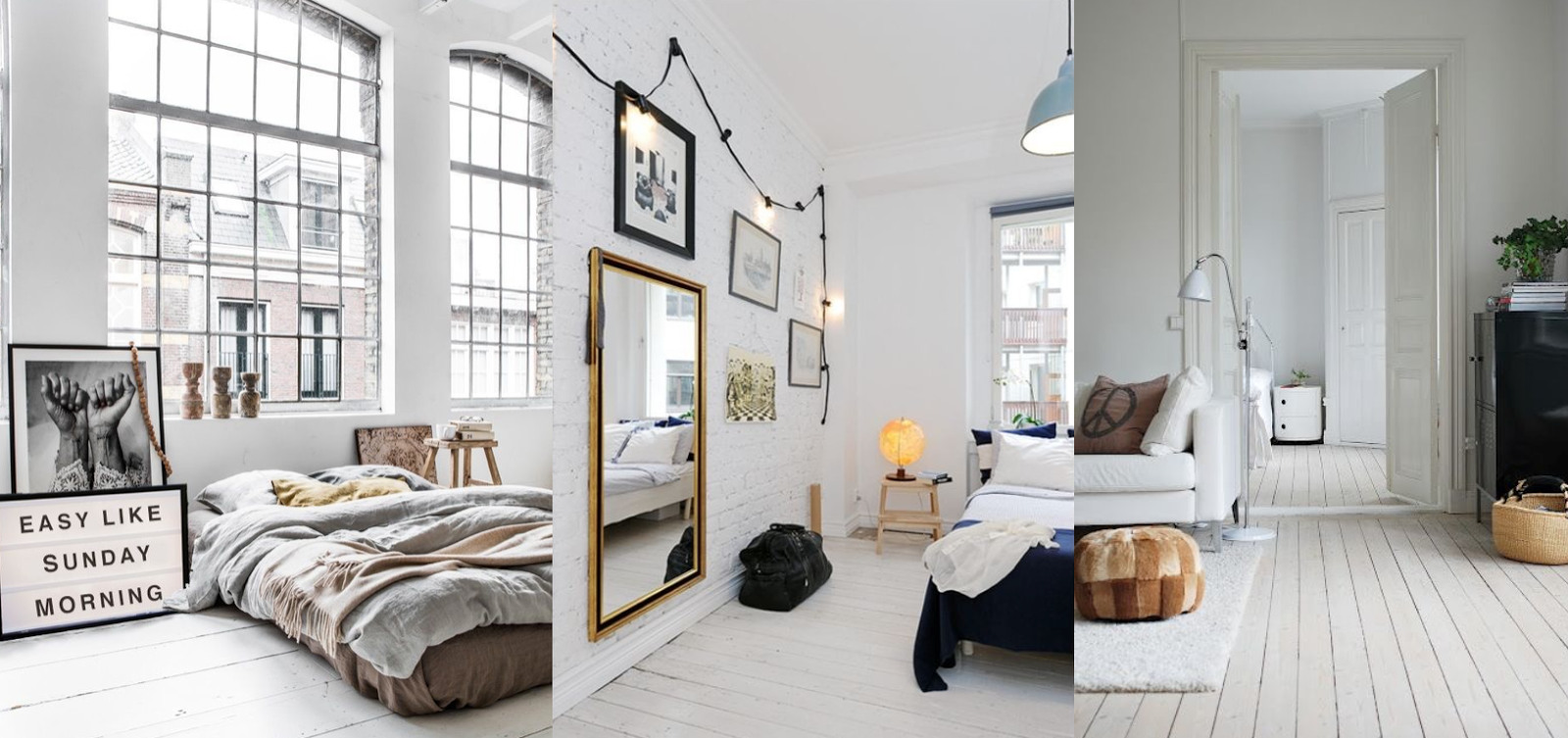 home inspiration white floorboards aztec mess