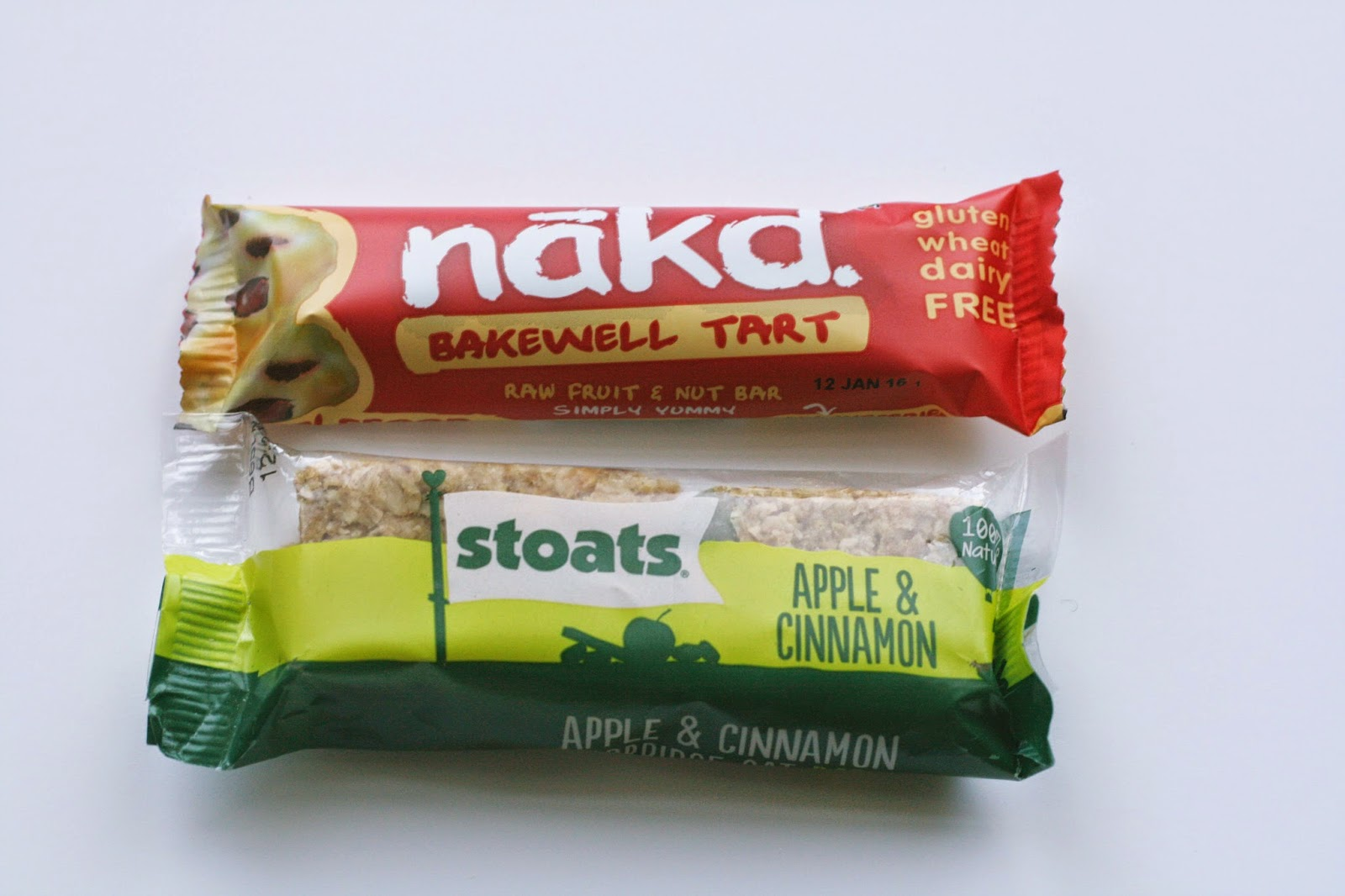 Blogging Snacks Nakd Bakewell tart