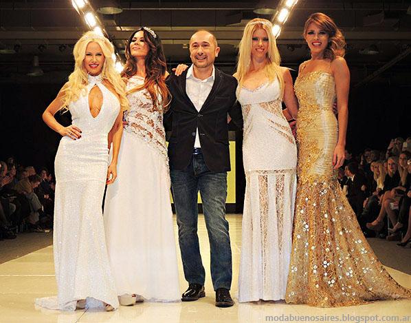 Claudio Cosano primavera verano 2014 Vestidos de Fiesta.