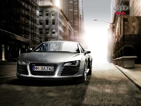 Audi on International Fast Cars  Audi R8 Wallpapers