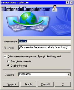 Il dottore dei computer finestra connessione remota che - Finestra che si apre ...