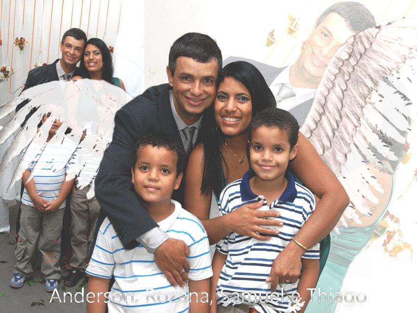 A anja e sua familia