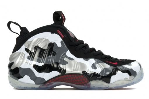 THE SNEAKER ADDICT: Nike Foamposite One Fighter Jet Camo ...
