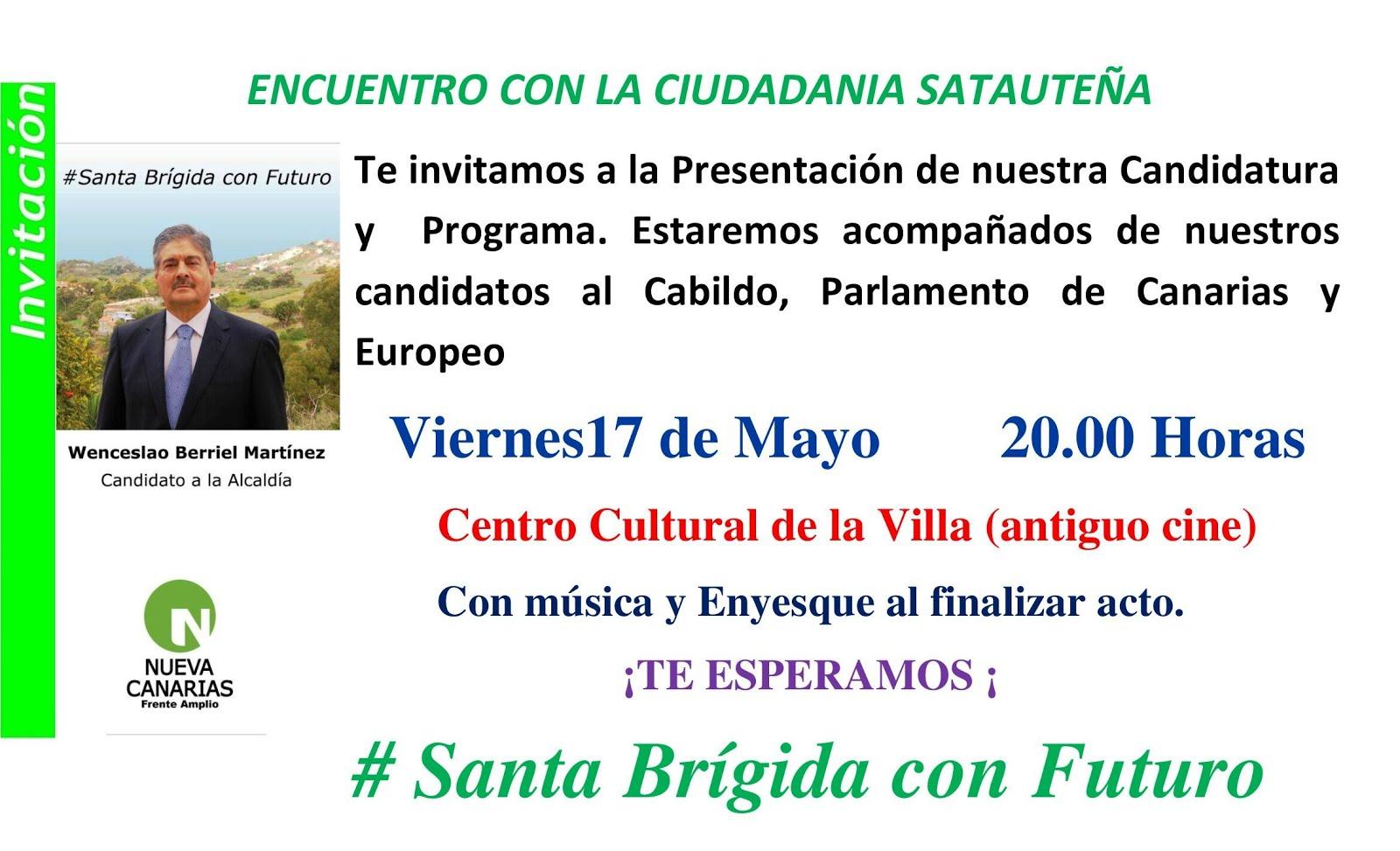 ACTO PRESENTACION CANDIDATURA Y PROGRAMA