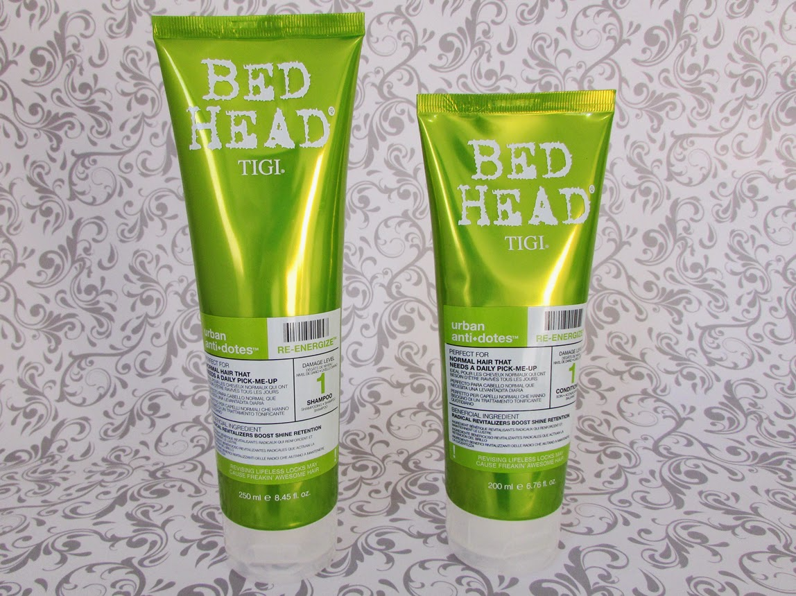 Shampoo, condicionador, Urban Antidotes Re-Energize, TIGI Bed Head