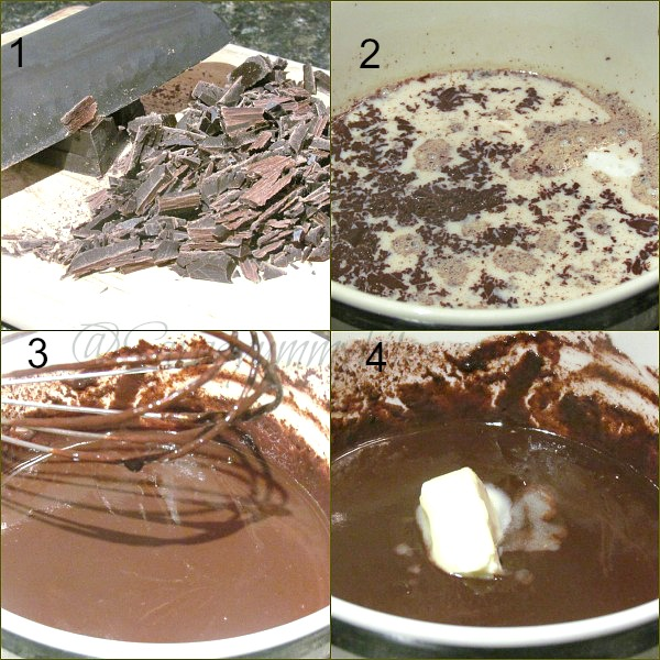 Ganache / How to make dark chocolate ganache
