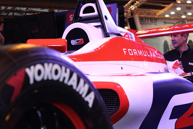 Detail of the new Formula Four Car