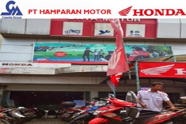 PT HAMPARAN MOTOR (HOHO) - KEPALA CABANG DAN KEPALA BENGKEL - KOTA BANDA ACEH, ACEH