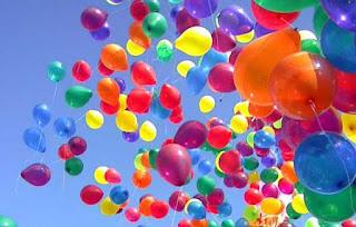 Balões para festa de aniversário