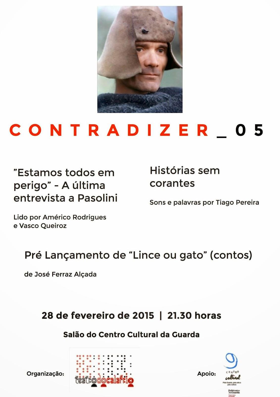 Estamos todos em perigo A última entrevista a Pier Paolo Pasolini ContraDizer 05