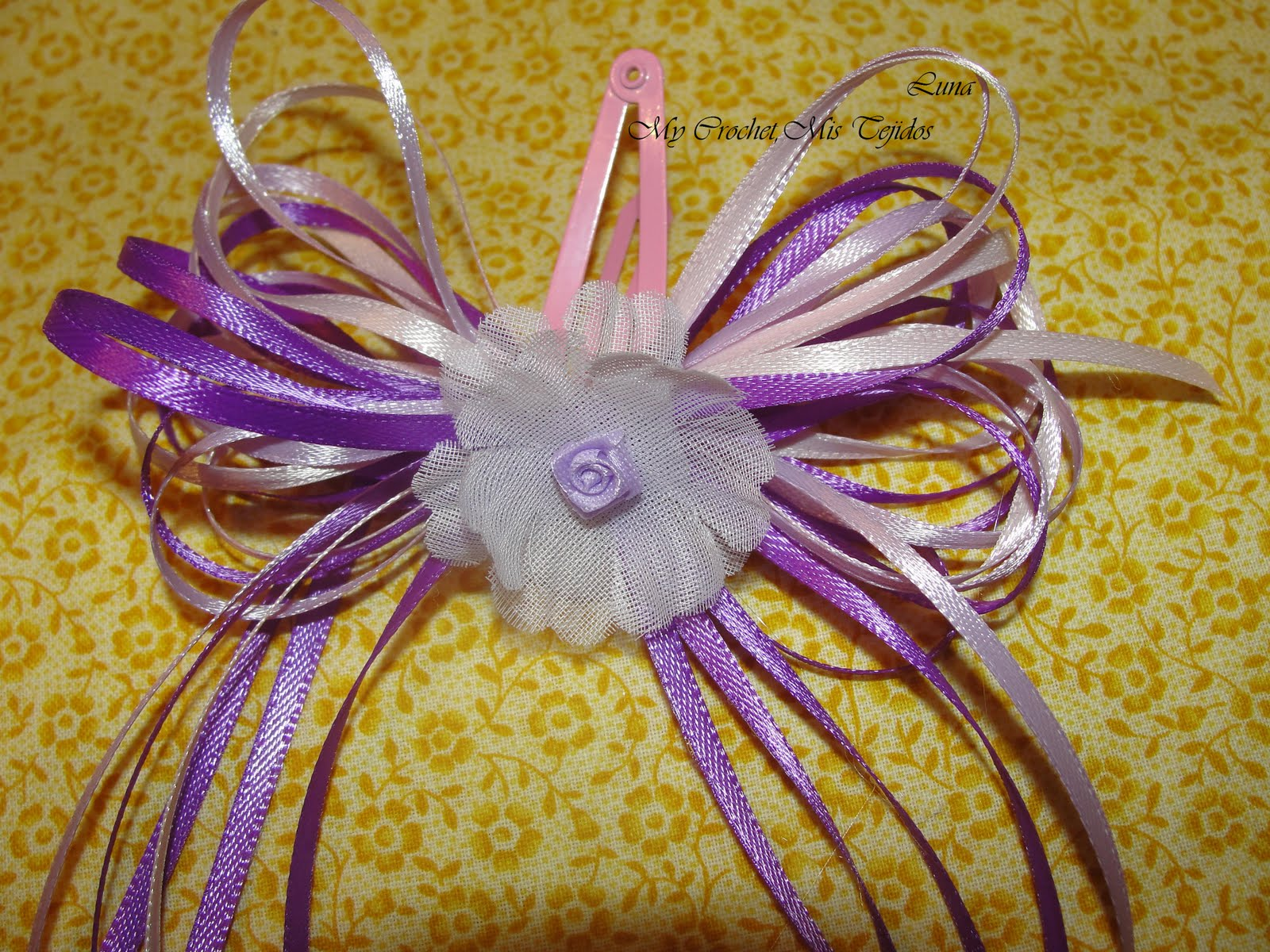 ... Costuras , Costuritas y Algo Mas: Lazos con cintas para el cabello