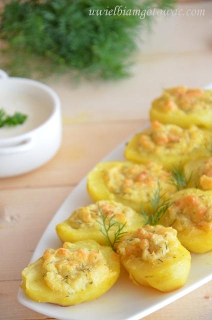 Ziemniaki faszerowane po wiejsku