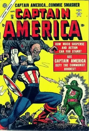 Captain America Comics #78 cover