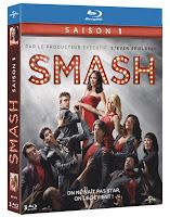 SMASH : la saison 1 en coffret DVD et Blu-ray