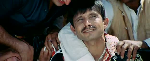 KRK with an odd expression