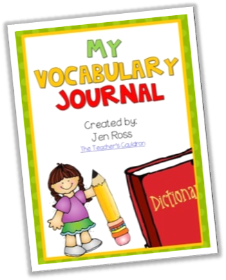 http://www.teacherspayteachers.com/Product/My-Vocabulary-Journal-Draw-and-Write-780656