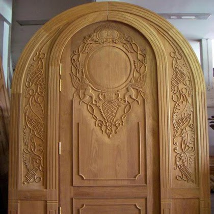 Kerala style wooden sigle main door designs wood design for Single main door designs for home