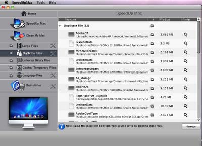 Remove duplicate files in Mac