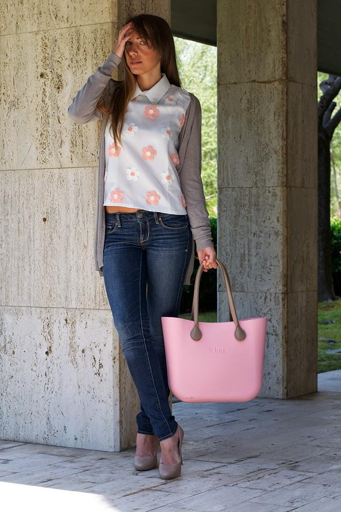 camicia margherite rosa