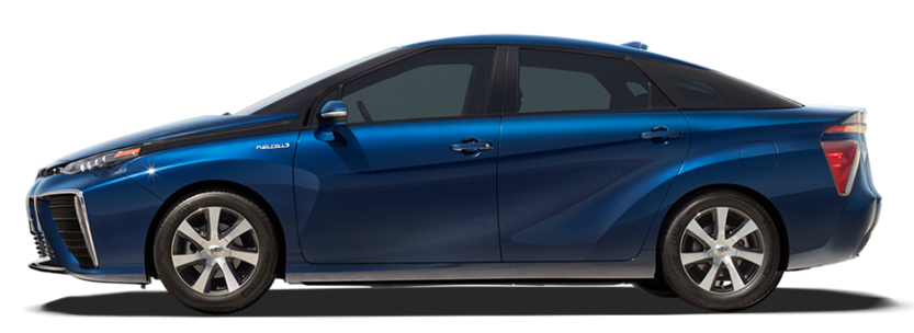 Toyota Mirai's Range Rated at 312 Miles