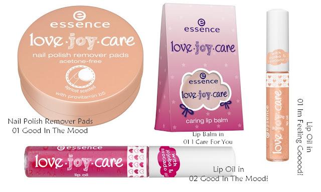Essence Love Joy Care TE