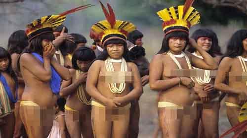 Suku Bugil Xingu Dari Pedalaman Amazon